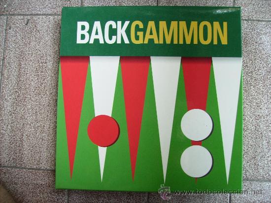 BACKGAMMON JUEGO DE MESA EDICIÓN VIAJE (Juguetes - Juegos - Juegos de Mesa)