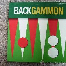 Juegos de mesa: BACKGAMMON JUEGO DE MESA EDICIÓN VIAJE. Lote 27833002