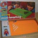 Juegos de mesa: ANTIGUO JUEGO SPORTING MINI BOWLING DE AIRGAM - Y EN SU CAJA ORIGIONAL - MIDE 51 CM. Lote 27849096