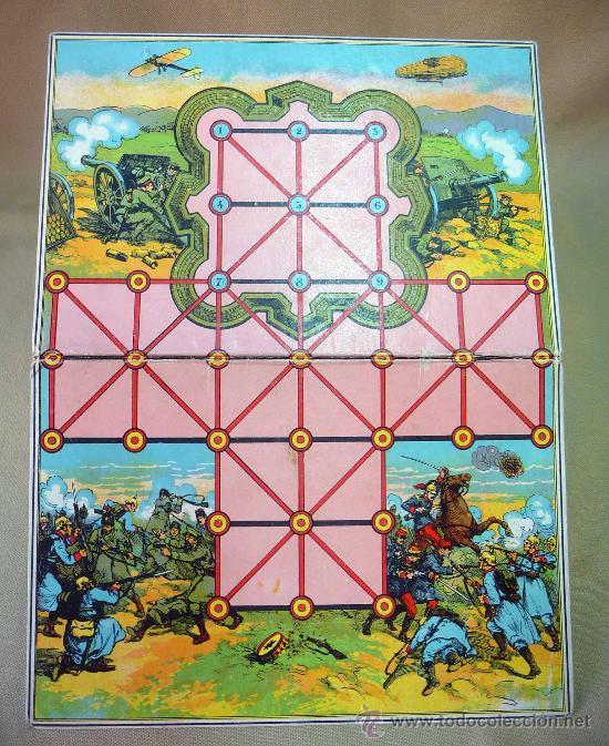 Juegos de mesa: JUEGO, TABLERO DE JUEGO, CARTON, JUEGO DE MESA, MILITAR, 34 X 26 CM - Foto 2 - 28399718