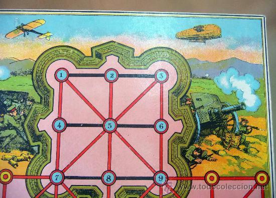Juegos de mesa: JUEGO, TABLERO DE JUEGO, CARTON, JUEGO DE MESA, MILITAR, 34 X 26 CM - Foto 4 - 28399718