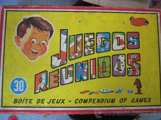 Antiguo Juego Juegos Reunidos Geyper 30 Juegos Comprar Juegos De