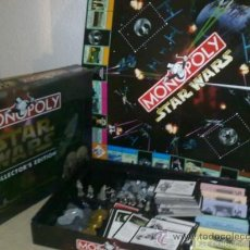 Juegos de mesa: MONOPOLY STAR WARS EDICCION COLECCIONISTA. Lote 28183814