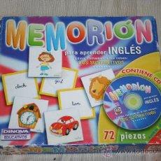 Juegos de mesa: ANTIGUO JUEGO MEMORION. Lote 172077549