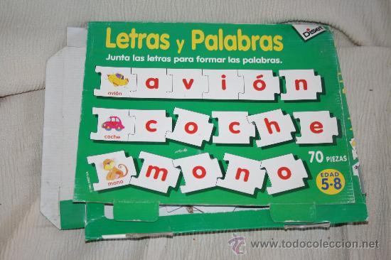 Antiguo Juego Puzzle De Letras Abecedario Comprar Juegos De Mesa