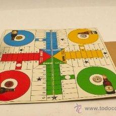 Juegos de mesa: PARCHIS PROPAGANDA DE CERVEZAS DAMM. 30X30 CM. 1960'S APROX.. Lote 28372025
