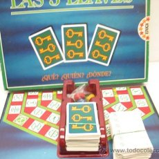 Juegos de mesa: JUEGO DE MESA LAS TRES LLAVES, DE EDUCA. Lote 28415973