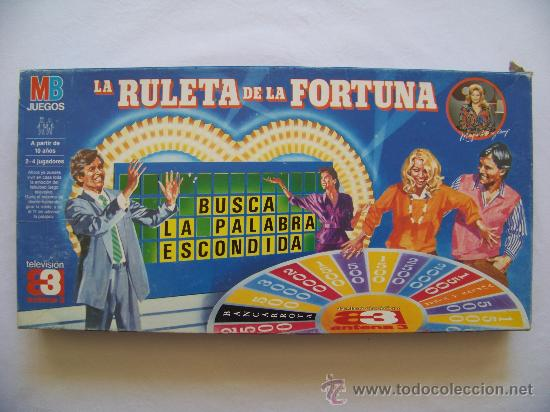 LA RULETA DE LA FORTUNA JUEGO DE MB (Juguetes - Juegos - Juegos de Mesa)