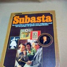 Juegos de mesa: JUEGO DE MESA, SUBASTA, FABRICADO POR EDUCA, COMPLETO. Lote 28724514