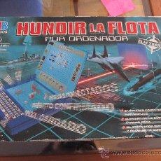 Juegos de mesa: M69 JUEGO DE HUNDIR LA FLOTA POR ORDENADOR POR INFRAROJOS DE MB UN CLASICO. Lote 28767018
