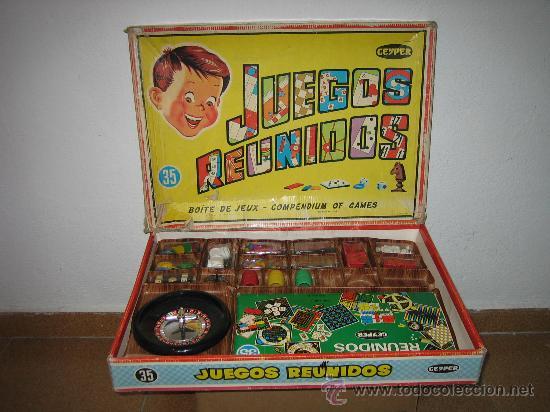 Juegos Reunidos Geyper 35 Comprar Juegos De Mesa Antiguos En
