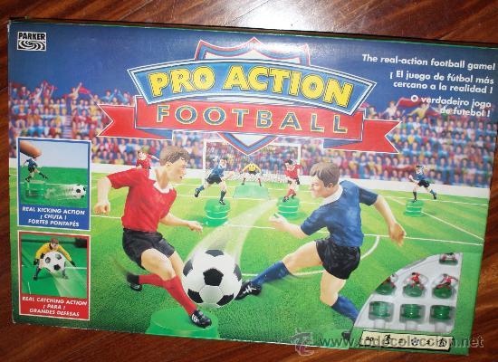Pro Action Football De Parker Comprar Juegos De Mesa Antiguos