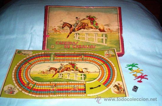antiguo juego de carreras de caballos  de l  Comprar Juegos