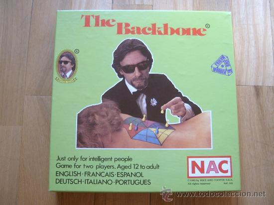 JUEGO NAC THE BACKBONE (1983) - SERIE CLUB - NUEVO (Juguetes - Juegos - Juegos de Mesa)
