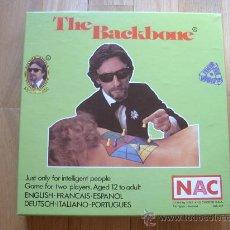 Juegos de mesa: JUEGO NAC THE BACKBONE (1983) - SERIE CLUB - NUEVO. Lote 28925437