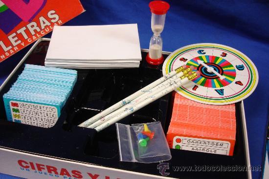 Cifras Y Letras Juego Para Pensar Y Calcular Comprar Juegos De