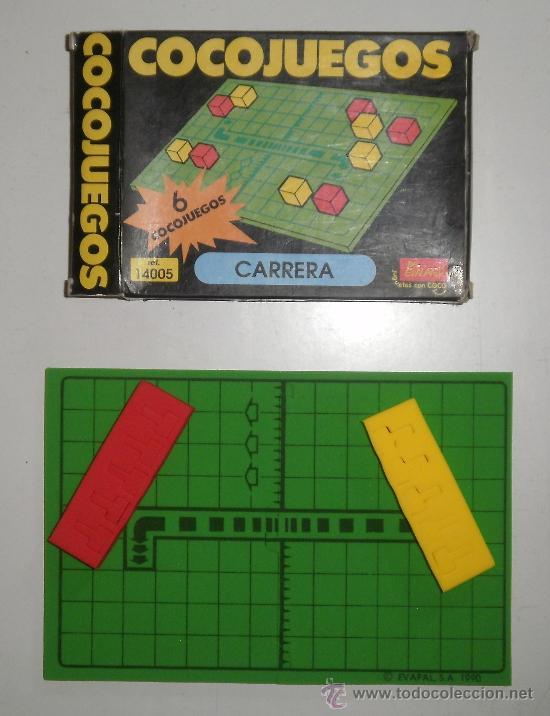 COCOJUEGO DE EVALAND (LA MARCA DE LOS COCOCRASH). CARRERA. REF 14005 (Juguetes - Juegos - Juegos de Mesa)
