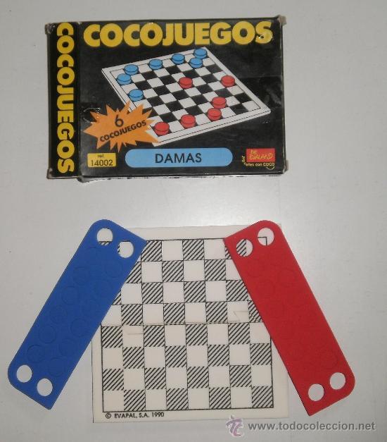 COCOJUEGO DE EVALAND (LA MARCA DE LOS COCOCRASH). DAMAS. REF 14002 (Juguetes - Juegos - Juegos de Mesa)