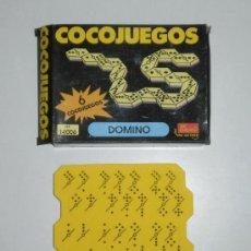Juegos de mesa: COCOJUEGO DE EVALAND (LA MARCA DE LOS COCOCRASH). DOMINÓ. REF 14006. Lote 29045375