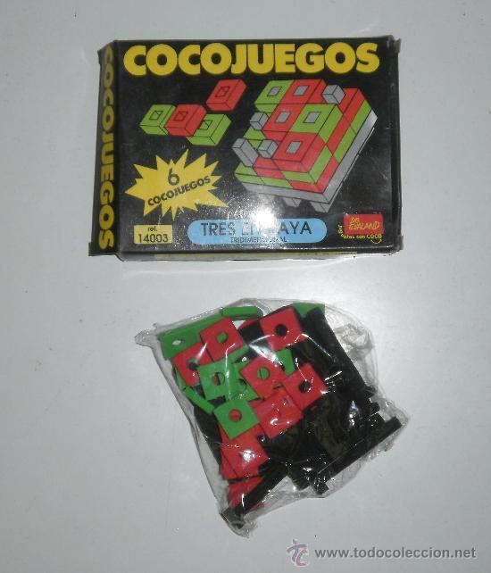 COCOJUEGO DE EVALAND (LA MARCA DE LOS COCOCRASH). TRES EN RAYA. REF 14003 (Juguetes - Juegos - Juegos de Mesa)