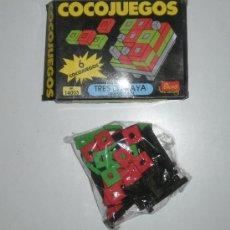 Juegos de mesa: COCOJUEGO DE EVALAND (LA MARCA DE LOS COCOCRASH). TRES EN RAYA. REF 14003. Lote 29045413