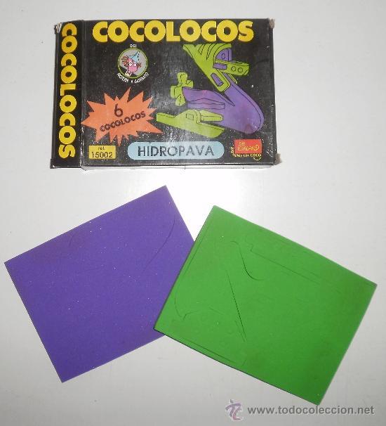 COCOLOCO DE EVALAND (LA MARCA DE LOS COCOCRASH). HIDROPAVA. REF 15002 (Juguetes - Juegos - Juegos de Mesa)