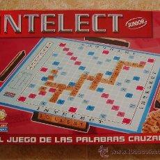 Juegos de mesa: JUEGO DE MESA INTELECT, EL JUEGO DE LAS PALABRAS CRUZADAS (2000) DE FALOMIR JUEGOS. ¡COMPLETO!. Lote 29052927