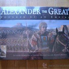 Juegos de mesa: JUEGO DE MESA ALEXANDER THE GREAT - PHALANX GAMES 2005 - ESTRATEGIA. Lote 29187939