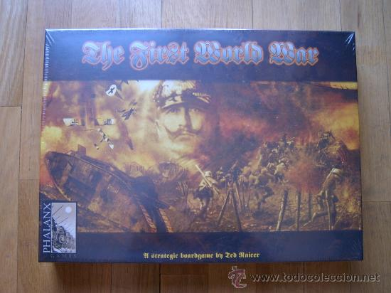 Juego Wargame The First World War Phalanx Gam Comprar Juegos De