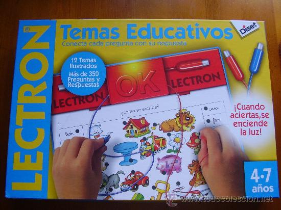 Juego De Mesa Lectron Temas Educativos De Dis Comprar Juegos De