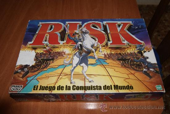 Juego De Mesa Risk El Juego De La Conquista Del Comprar Juegos De