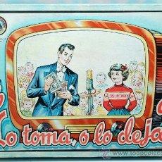 Juegos de mesa: JUEGO AGAPITO BORRAS LO TOMA O LO DEJA AÑOS 40 50. Lote 30172840