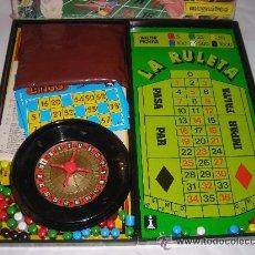 Juegos de mesa: GRAN CASINO BINGO Y RULETA MAGNETICO ANTIGUO JUEGO DE RIMA - ARTICULO NUEVO. Lote 29407975