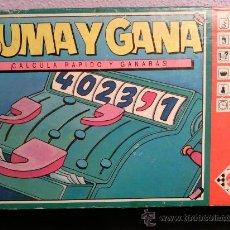 Juegos de mesa: MATTEL SUMA Y GANA DE ROLAND SIEGERS REF 6948 AÑO 1989 VINTAGE. Lote 29464535