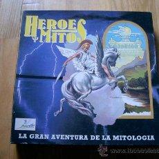 Juegos de mesa: JUEGO DE MESA HEROES Y MITOS - DIBERCAN 1991 - DESCATALOGADO - TEMÁTICO - MITOLOGÍA. Lote 173441769