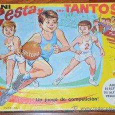 Juegos de mesa: MINI CESTA Y TANTOS JUEGO DE MESA DE PSE, UN JUGUETE ELECTRÓNICO, Nº 1003. Lote 29492614