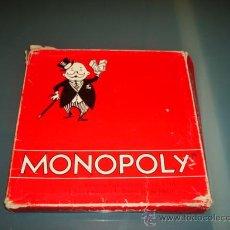 Juegos de mesa: JUEGO MONOPOLY DE BORRAS EDICION ESPECIAL CAJA ROJA CON CALLES DE MADRID. REF 6366 - M.. Lote 29506647