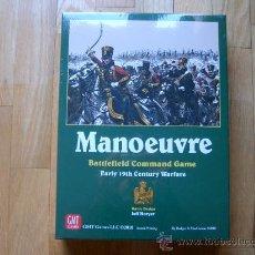 Juegos de mesa: JUEGO WARGAME MANOEUVRE - GMT 2008, 2010 - MANIOBRA - PRECINTADO - ESTRATEGIA. Lote 29582339