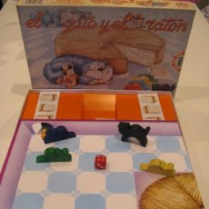 Juegos de mesa: JUEGO EL GATO Y EL RATON DE EDUCA. Lote 29587003