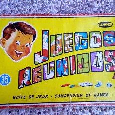 Juegos de mesa: JUEGOS REUNIDOS GAYPER 35. Lote 29587344