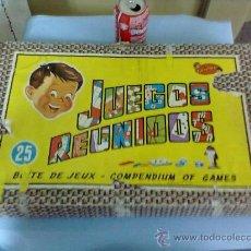 Juegos de mesa: JUEGOS REUNIDOS GEYPER............1964. INCOMPLETO..............SEGUN FOTOS.. Lote 29589191
