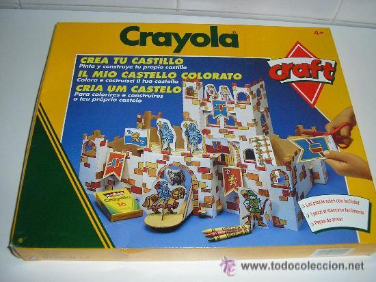 juego crayola crea tu castillo - cortar pegar y - Comprar Juegos de ...