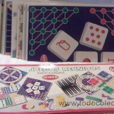 Juegos de mesa: JUEGOS REUNIDOS 65 DE GEYPER,9 TABLEROS DE DIVERSOS JUEGOS REUNIDOS.. Lote 29601421
