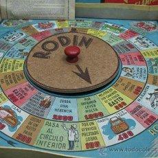 Juegos de mesa: JUEGO DE MESA RODIN ´´TRANSPORTES RELAMPAGO´´ MUDANZAS. Lote 29680326