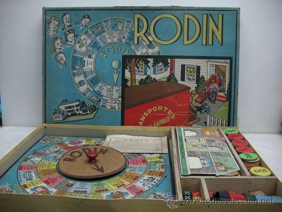 Juegos de mesa: JUEGO DE MESA RODIN ´´TRANSPORTES RELAMPAGO´´ MUDANZAS - Foto 2 - 29680326
