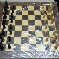Juegos de mesa: AJEDREZ DE MADERA Nº 2 - AÑOS 60/70 (NUEVO A ESTRENAR,VER DETALLE). Lote 29652999