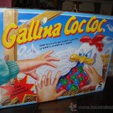 Juegos de mesa: JUEGO GALLINA COC COC JUEGOS SCHMIDT AÑOS 90?? PRECINTADO. Lote 29700287