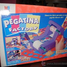 Juegos de mesa: JUEGO DE MESA PEGATINA FACTORY - MB AÑO 1994 - NUEVO!!!. Lote 29701192