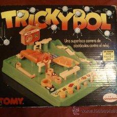 Juegos de mesa: TRICKYBOL BIZAK TOMY REF Nº 7070 FINALES 80 VINTAGE. Lote 29719673