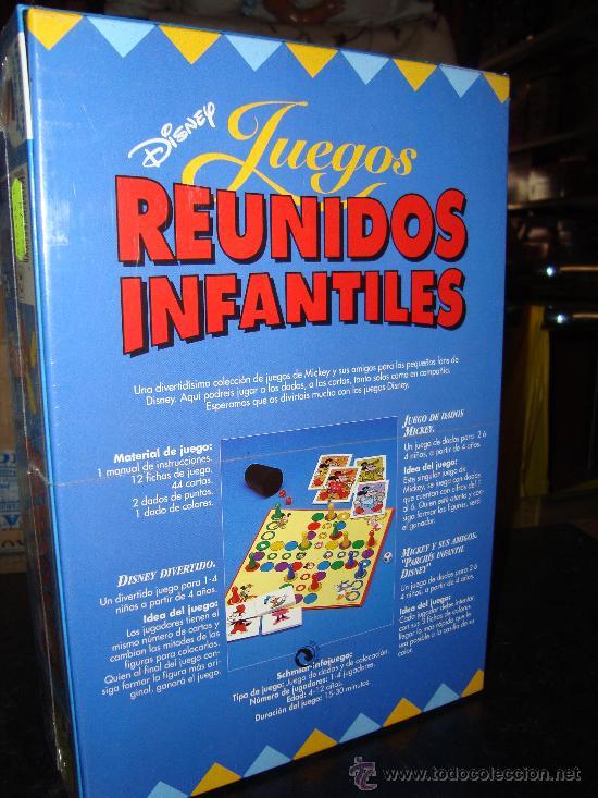 Juegos Reunidos Infantiles Disney Mickey Mi Comprar Juegos De